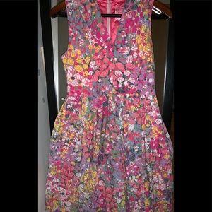 Kate Spade floral long dress
